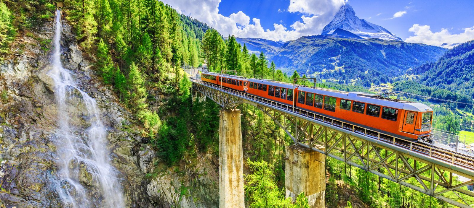 Swiss Trains and The Italian Lake District