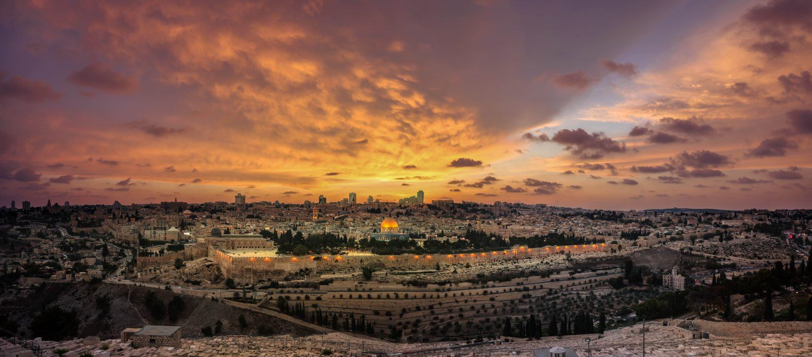 The Holy Land: Past Present and Future