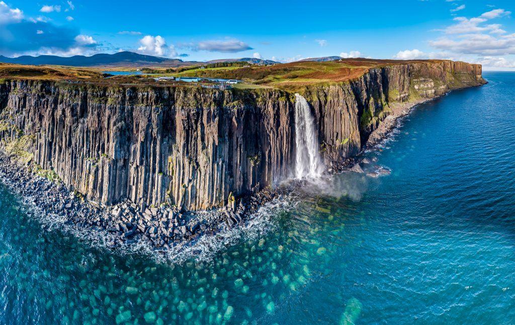 Scotland, Kilt Rock